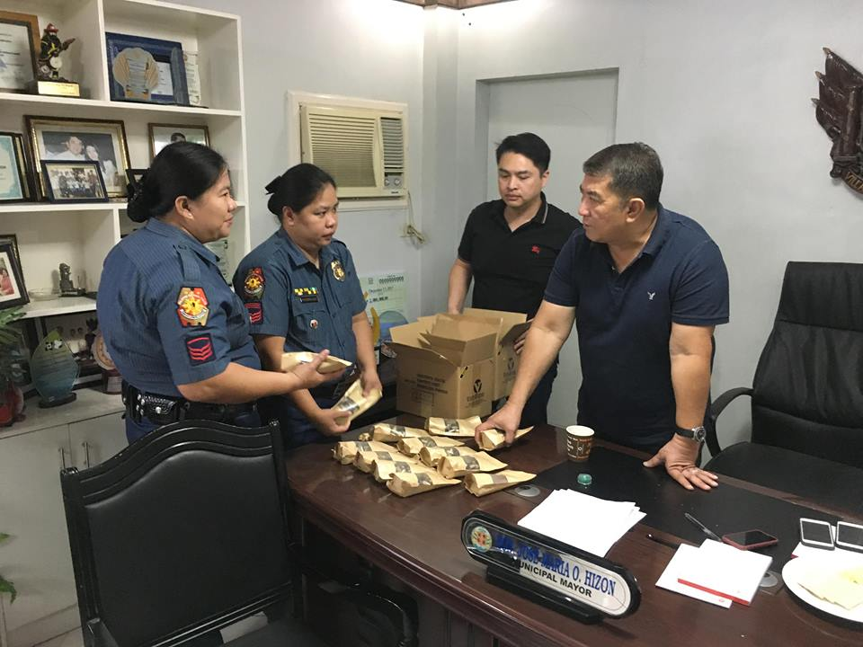 9mm Ammunition donated by the LGU Bacolor headed by Hon Jose Maria O Hizon and Municpal Budget Mr Renato W Lee for the Proficiency Firing of the Personnel this Municipality