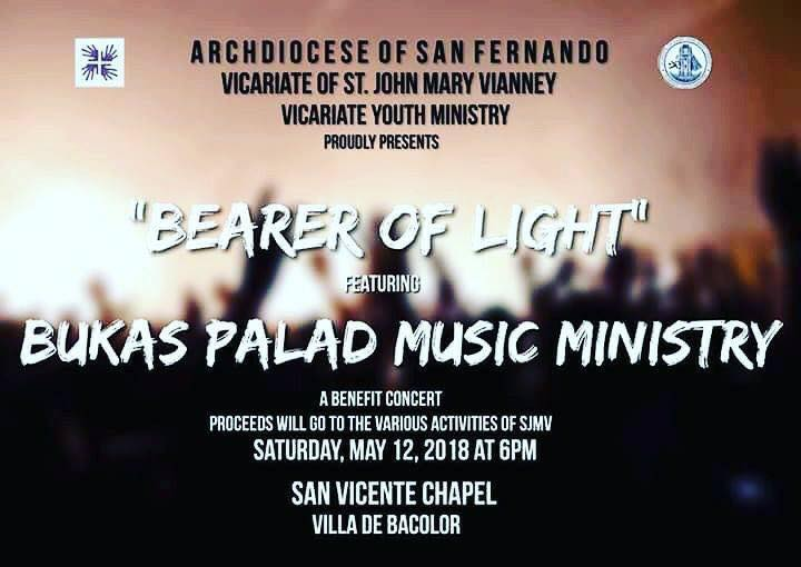 Let us support the Vicariate Youth Ministry of the Vicariate of St. John Mary Vianney