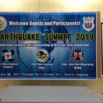 Earthquake Summit 2019