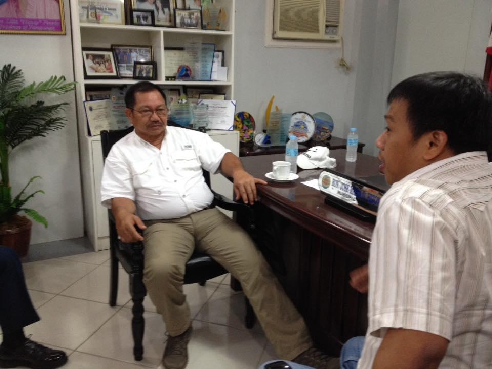 Meeting with Secretary Manny Pinon