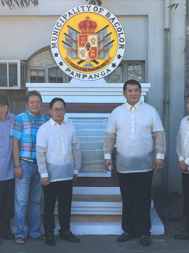 Unveiling Ceremony of the Official Seal of Villa de Bacolor Pampanga