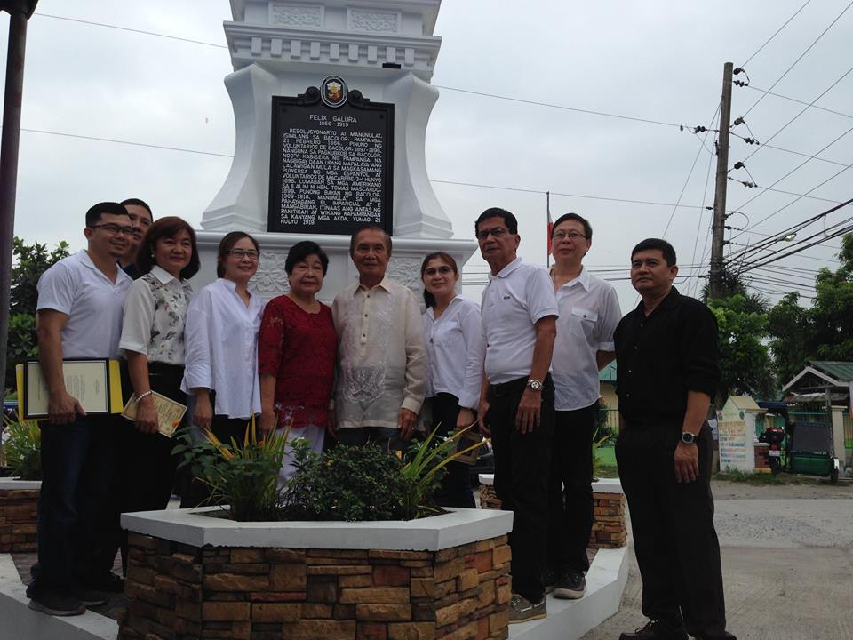 Unveiling of Historical Marker of Felix Galura