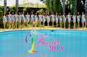 Candidates of Miss Bacolor 2015