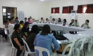 Bacolor Rehabilitation Council Meeting