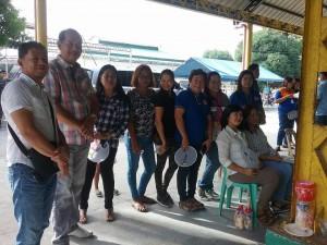 Distribution of Philhealth I.D. by Gov. Lillia Nanay Pineda to the people of Bacolor (11)