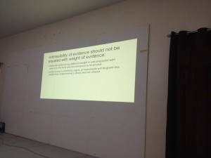 Lecture on Criminal Procedure and other Relevant Penal Laws (4)