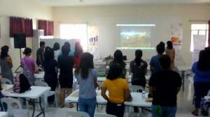 Livelihood training on t-shirt printing  - Bacolor Pampanga (2)