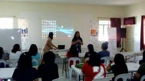 Livelihood training on t-shirt printing  - Bacolor Pampanga (5)