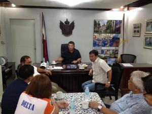 Meeting with Secretary Manny Pinon (11)
