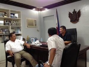 Meeting with Secretary Manny Pinon (3)
