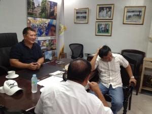 Meeting with Secretary Manny Pinon (6)