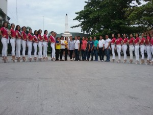 Presentation of Miss Bacolor Candidates