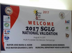 Seal of Good Local Governance National Validation