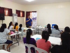 Skills and Livelihood Training of Mayor Jomar Hizon in Partnership with DTI and Congressman Dong Gonzales (1)