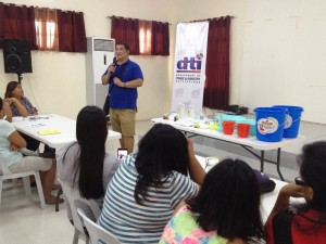 Skills and Livelihood Training of Mayor Jomar Hizon in Partnership with DTI and Congressman Dong Gonzales (2)