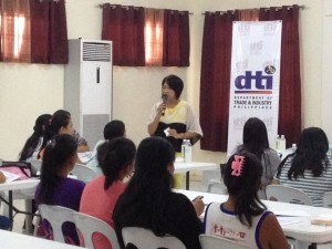 Skills and Livelihood Training of Mayor Jomar Hizon in Partnership with DTI and Congressman Dong Gonzales (5)