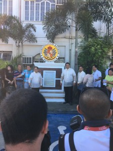 Unveiling Ceremony of the Official Seal of Villa de Bacolor Pampanga (5)