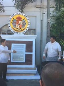 Unveiling Ceremony of the Official Seal of Villa de Bacolor Pampanga (6)