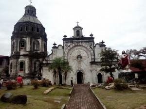San Guillermo church, Villa de Bacolor, Pampanga, remnants of lahar