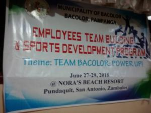 Team Building 2018 - Team Bacolor Power Up