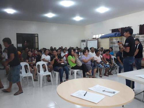 Bacolor Public Market Vendors Meeting with Mayor Eduardo Diman Datu - December 6, 2019