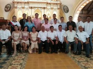 Oath Taking of Newly Elected Barangay Officials part 2