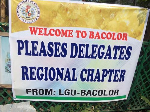 PLEASES Delegates visits Bacolor