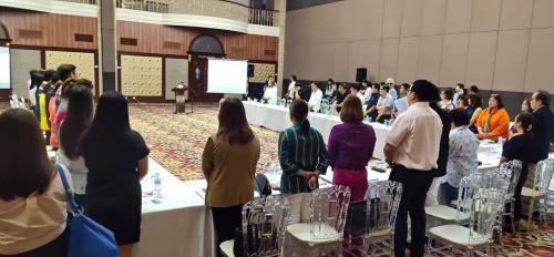 Pampanga tourist council meeting with Governor Dennis Delta Pineda former President Gloria Arroyo and Municipal Mayors of Pampanga - October 14, 2019
