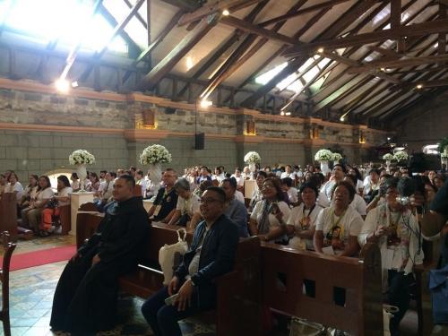 Sta Rita de Acacia Relic at San Guillermo Church - Bacolor, Pampanga