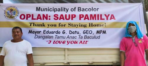 Oplan: Saup Pamilya ( First Wave) Thank You for Staying Home!