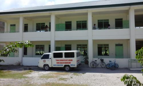 New Building at Bacolor High School  Model Houses at Tinajero, Bacolor, Pampanga 2016