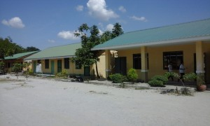New Building at Bacolor High School  Model Houses at Tinajero, Bacolor, Pampanga 2016