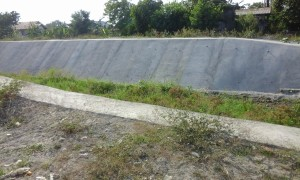 Slope Protection of San Vicente-Cabambangan Creek